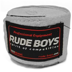 Boxing Handwraps Cotton RUDE BOYS CLASSIC 4m