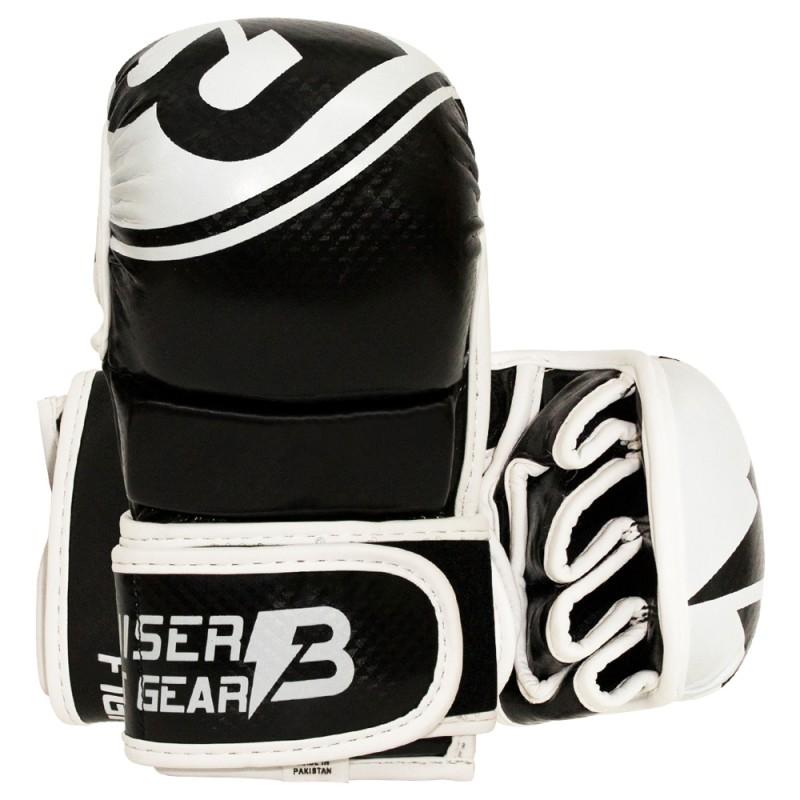 Guantes de Boxeo Entrenamiento FITNESS RUDE BOYS SILVER PUNCH