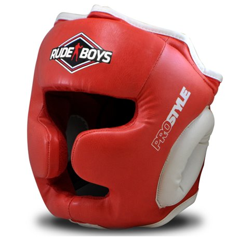 Head Guard Boxing Cheekbone Training RUDE BOYS PRO STYLE