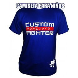 Camiseta Niño y Niña TShirt KID CUSTOM FIGHTER