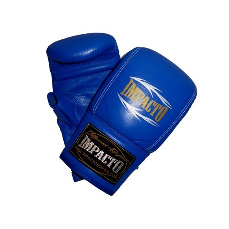 Boxing Bag Training Gloves and Fitness IMPACTO