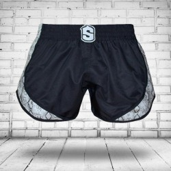 Pantalones Cortos Muay Thai Shorts K1 SHARK WARRIOR 0