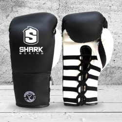 Boxing Gloves Pro with Laces Training SHARK BOXING DÉCADA