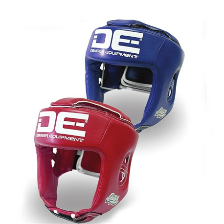 Boxing Head Guard Cheekbone Training Muay Thai DANGER COMPETITION