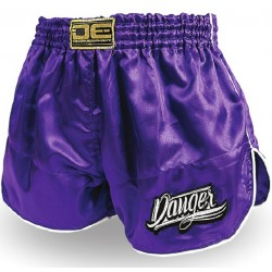 Pantalones Cortos Shorts Muay Thai K1 DANGER RETRO 2 SATIN
