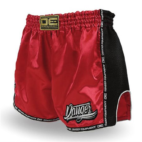 Pantalones Cortos Shorts Muay Thai K1 DANGER LOW WAIST SATIN