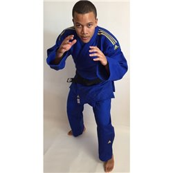 Judogi ADIDAS Competition CHAMPION II Slim Fit Approved IJF 2015-16 Blue