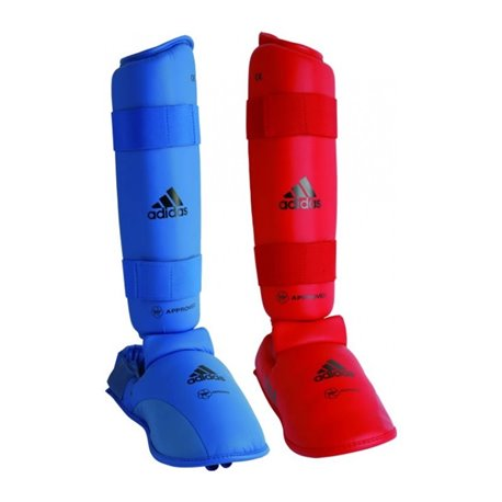 Shin Guards ADIDAS KUMITE Karate Muay Thai K1