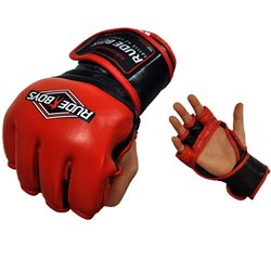 Guantes MMA y FITNESS Entrenamiento RUDE BOYS PRO-FIGHT