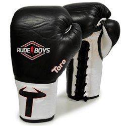 Professional Boxing gloves Competition RUDE BOYS Crin Horse TORO