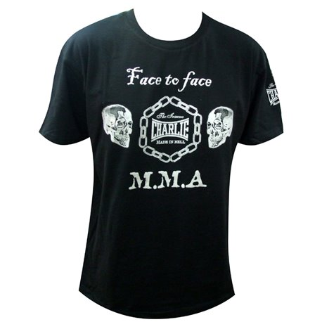 Camiseta MMA CHARLIE FACE TO FACE