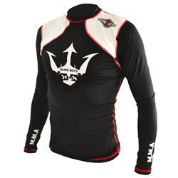 Camiseta Elástica Manga Larga Grappling RASH GUARD RUDE BOYS MMA
