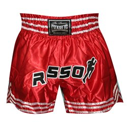 Pantalones Cortos Muay Thai Shorts K1 CHARLIE RED ROSSO