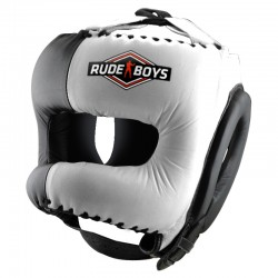 Casco de Boxeo con Barra Frontal RUDE BOYS MEXICAN