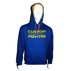 Hoodie CUSTOM FIGHTER AZUL