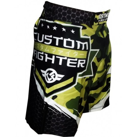 Pantalones Cortos MMA Shorts BERMUDAS CUSTOM FIGHTER ARMY