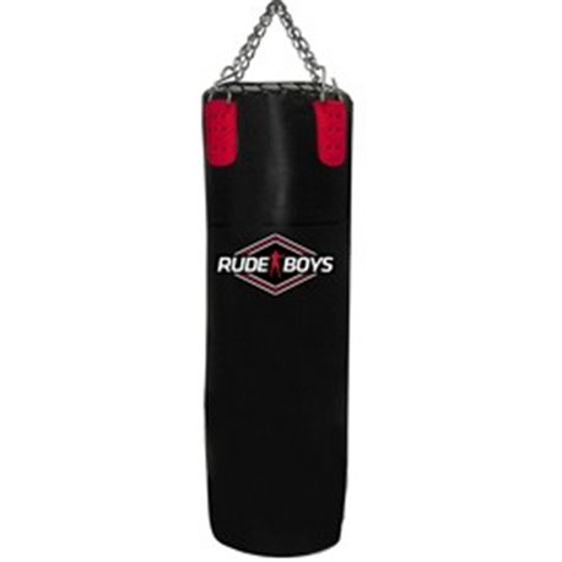 Saco Boxeo Muay Thai 150x40 Piel Vacío RUDE BOYS PROFESSIONAL