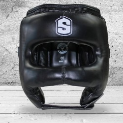 Casco de Boxeo con Barra Frontal SHARK BOXING JAPAN