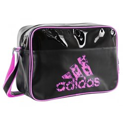 Sports Bag ADIDAS RETRO Charol 32x46x19cm Pink
