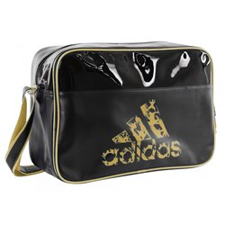 Sports Bag ADIDAS RETRO Charol 32x46x19cm Gold