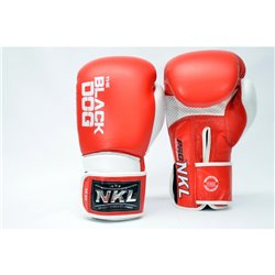 Boxing Gloves NKL BLACK DOG Training Muay Thai Boxers
