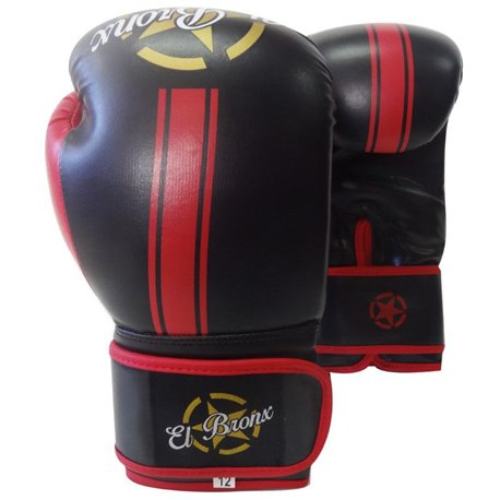 Training Boxing Gloves EL BRONX RED LINE