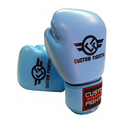 Training Boxing Gloves CUSTOM FIGHTER RETRO SKY