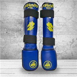 Shin Guards Kids Muay Thai K1 SHARK GOLDEN BOY